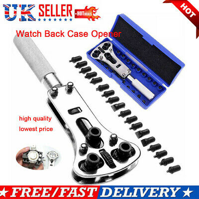 UK Watch Opener Press Back Cover Case Remover Battery Change Repair Tool Kits