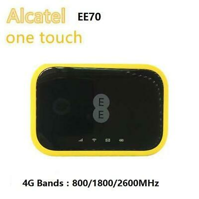 Unlocked EE Mini 2 Cat7 4G LTE MiFi Alcatel EE70VB Mobile Router Hotspot EE70 UK