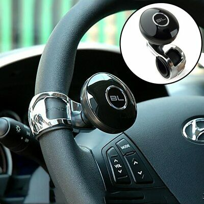Hot Sale Car Auto Black Control Handle Steering Wheel Handle Assist Spinner Knob Booster Atv,rv,boat & Other Vehicle