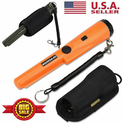 Waterproof Pinpointer Pin GP-Pointer Probe Metal Detector Auto Tuning Holster US