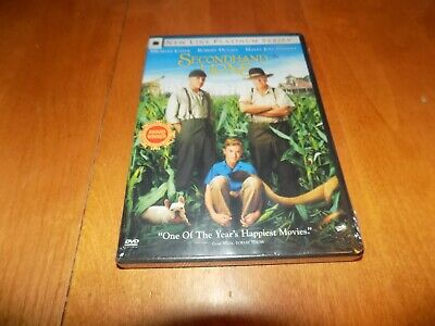 SECONDHAND LIONS Comedy Drama Classic Michael Caine Robert Duvall DVD SEALED NEW