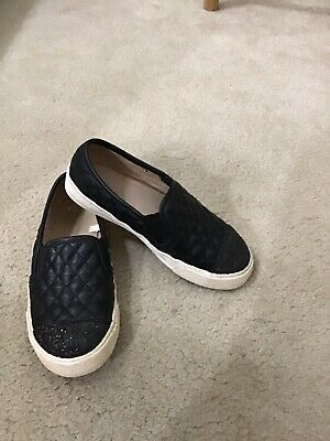 The Children Place Kids Youth Girls Black Flat Shoes Moccasin 1