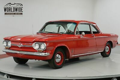 1963 Chevrolet Corvair Extensive Restoration. Fire Engine Red. Chrome!