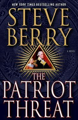 The Patriot Threat by Steve Berry -Hard Cover / NY Times Bestseller / QUICK Ship