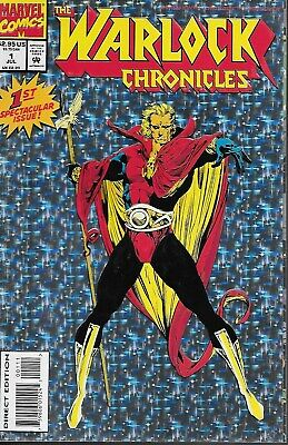 The Warlock Chronicles No.1 1993 Infinity Crusade / Special Holo Chromium Cover