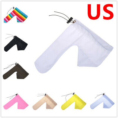 10065fc21f5e Sissy Men Penis Sleeve Pouch Rainbow Sock Willy Warmer Cover Up Sheath  Underwear