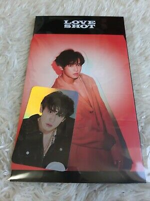 EXO LOVE SHOT Hologram Photo Card Set CHANYEOL Official goods Tracking Number