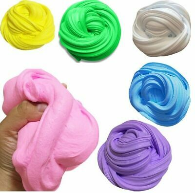 Fluffy Floam Slime Putty Scented Stress Relief Plasticine Clay Kids Children Toy