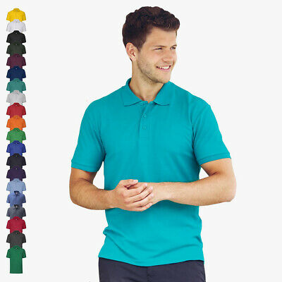 FRUIT OF THE LOOM - Piqué Poloshirt '65/35' Mischgewebe S M L XL XXL 3XL 4XL 5XL