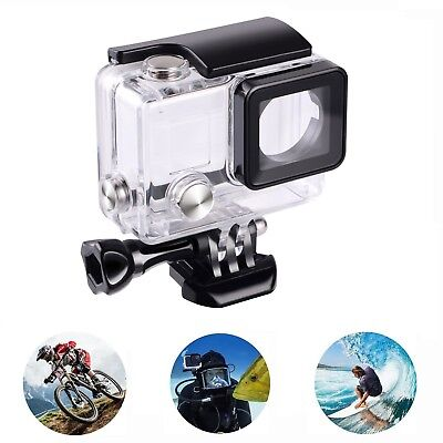 For Pro Hero 3+ 4 Go Pro 45m Waterproof Diving Protective Housing Clear Case AU