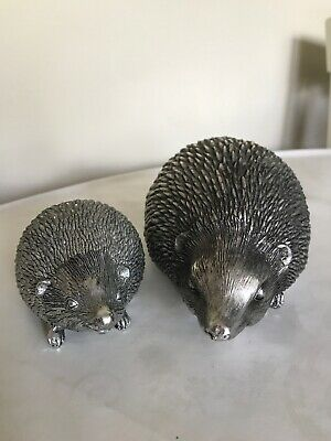 Style My Pad Silver Ornamental Hedgehog Nautical Décor Figurines Décor Figurines