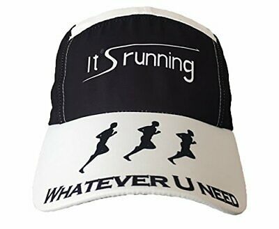 Headsweats Race Tiene Special it 's Running Unidad Tapa, Black/White, One Size