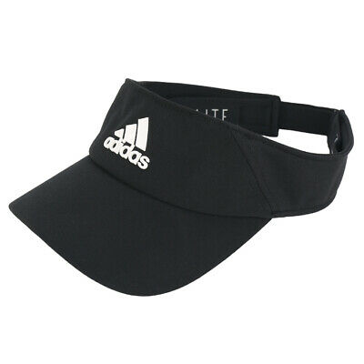 65ef18f0 Adidas Climalite Visor Athletic Tennis Cap Running Sports Golf Hat Black  DT8536