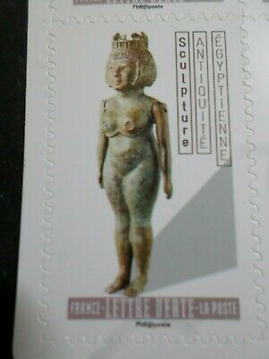ART SCULPTURE, 2019 TP AUTOADHESIF FRANCE, ANTIQUITE EGYPTE, neuf**, MNH STAMP