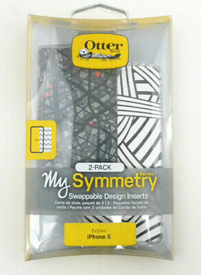OtterBox Symmetry Series Silly String/Mosaic Swappable Inserts For iPhone 6/6s