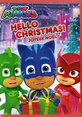 Pj Masks - Hello Christmas (Bilingual) (Dvd)