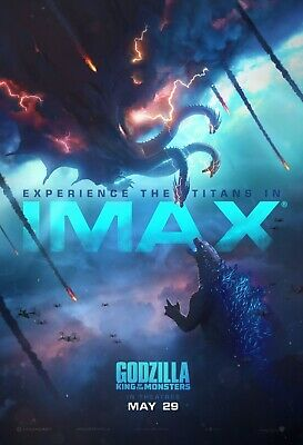 Godzilla King Of the Monsters movie poster (k) - 11 x 17 (2019)