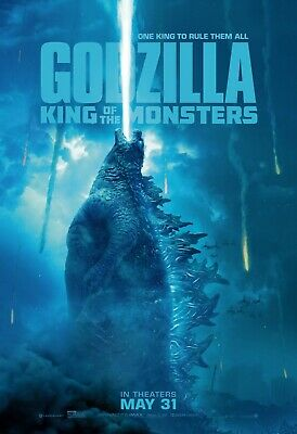 Godzilla King Of the Monsters movie poster (m) - 11 x 17 (2019)