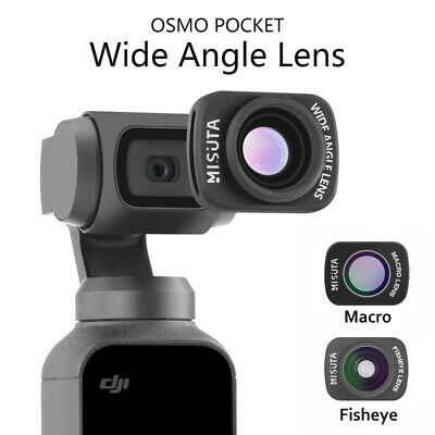 For DJI OSMO POCKET Pocket Camera Wide Angle/Macro/Fisheye Lens Accessories