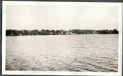 Vintage Photograph St. Lawrence River Lake Ontario Canada Quebec New York Photo