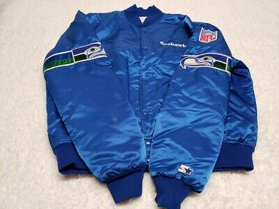 the latest ac70e 32f94 VTG NFL SEATTLE Seahawks Starter Jacket 90's Throwback XL FLAW 8, 9, 10, 11