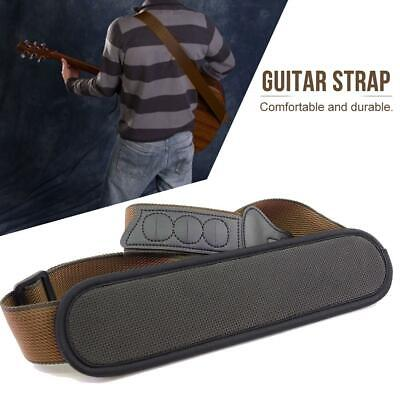 For Electric Guitar Bass With And Shoulder Pad Adjustable Guitar Strap