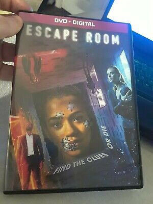 Escape Room 2019 Movie DVD & Digital Like New Condition Thriller Deleted Scenes