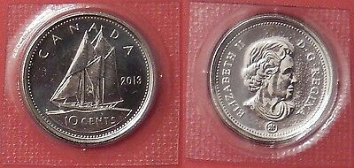 Proof Like 2013 Canada 10 Cents Sealed in Cello