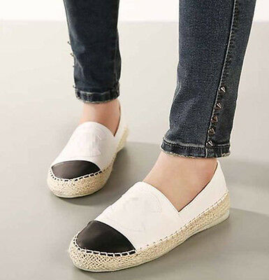 Designer Women's Casual Lazy Shoes Boat Shoes Flat Weave Espadrilles Loafers