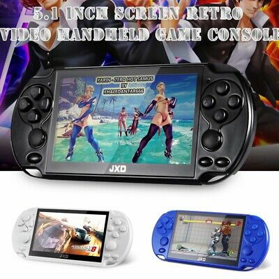 """JXD 16GB 5.1"""" 128Bit Built-In 3000 Classic Games Handheld Game Console Player"""