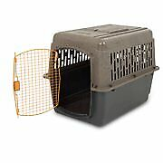"XL Dog Crate Large Travel Plastic Airline Approved Pet Kennel 36"" Cage 50-70 lbs"