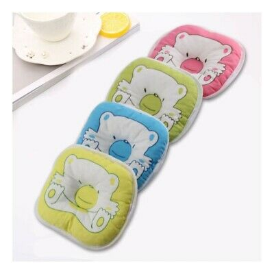Newborn Bear Printed Pillow Infant Baby Support Cushion Pad Prevent Flat Head@