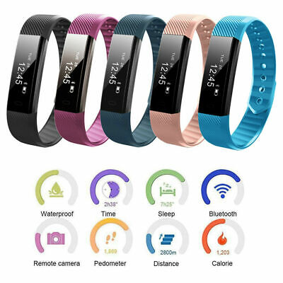 Fitness Activity Tracker Smart Watch Health Sports Wristband For Android iPhone