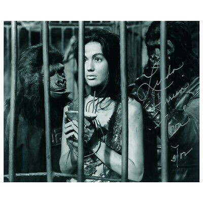 Linda Harrison - Autograph - Signed Black and White Photograph