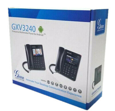GRANDSTREAM GXV3240 MULTIMEDIA Android OS 6 Line Video IP Conference