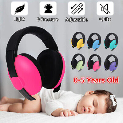 Baby Childs Ear Defenders Earmuffs Protection 3months+ Kids Boys Girls For Sleep