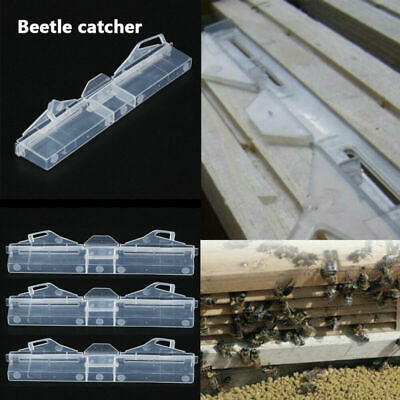 7'' Hive Beetle Clear Trap Beekeeping Apiary Bee Hive Protector Equipment