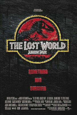 Jurassic Park poster - The Lost World movie poster  - 11 x 17 inches
