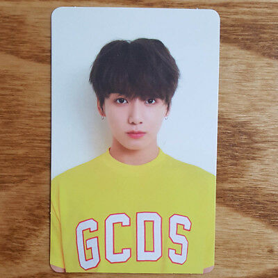 Jungkook Official Photocard BTS Love Yourself Her V Version Kpop Genuine