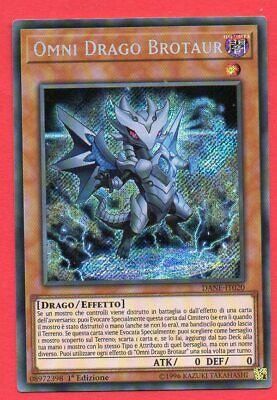 YU-GI-OH ! - OMNI DRAGO BROTAUR 1° Edizione - (DANE-IT020) NM/ITA