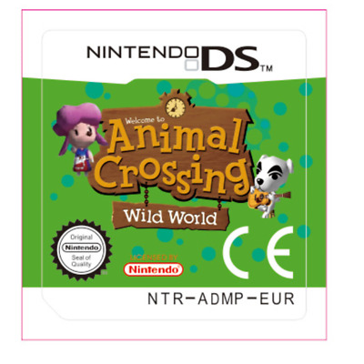Animal Crossing Wild World Game Card For Nintendo 3DS NDS Lite NDSI NDSXL NDSLL