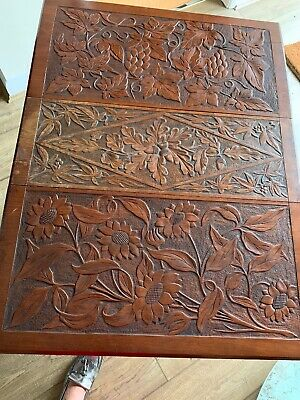 Beautiful Antique Carved Occasional Table