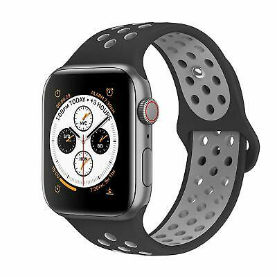 Replacement Silicone Band Strap Apple Watch Series 4 3 2 40mm 44mm Sport Nike+