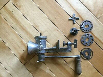 Vintage Keystone No.10 Food Chopper hand Meat Grinder Made In USA collector