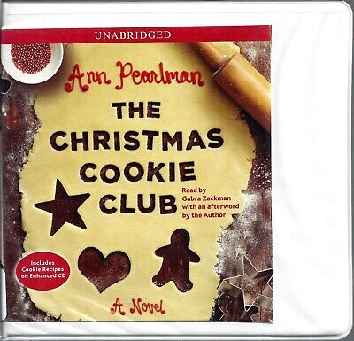The Christmas Cookie Club by Ann Pearlman Gabra Zackman Unabridged CD Audio Book