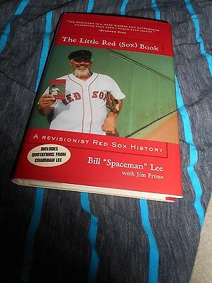 Bill Lee Signed TO JASON Little Boston Red Sox Book Baseball Autograph 2003 2004
