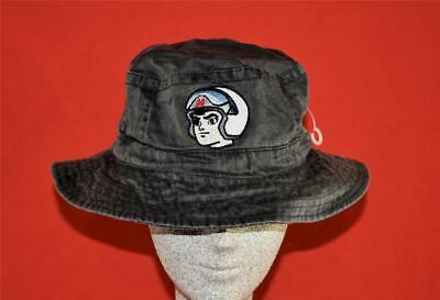 New 1997 The Planet, Inc. Speed Racer Boonie Hat Gray Size L/XL 60.5cm