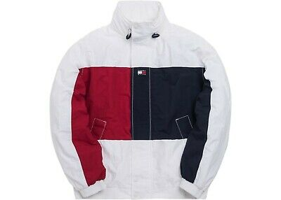a7a9f106 Kith x Tommy Hilfiger Colorblock Sailing Jacket Size Medium White (SHIPS  ASAP)