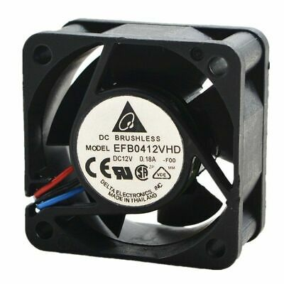 Delta EFB0412VHD 40x40x20mm 4020 12V 0.18A DC BRUSHLESS Fan 3pin