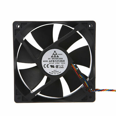 DC12V 0.80A 120x120x25mm 7-Blade Brushless Cooling Fan 12025 For Delta AFB1212SH